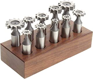 Grizzly Industrial H5865-10 pc. Woodruff Key Cutter Set