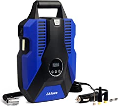 Akface Tire Inflator for Car,Portable Air Pump for Car Tires,12v DC Tire Pump,with..
