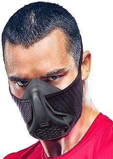 ماسک تمرین اسپارتوس - شبیه سازی ارتفاع در ارتفاع بالا - برای بدنسازی ، کاردیو ، تناسب اندام ، دویدن ، استقامت و آموزش HIIT [16 سطح تنفس]