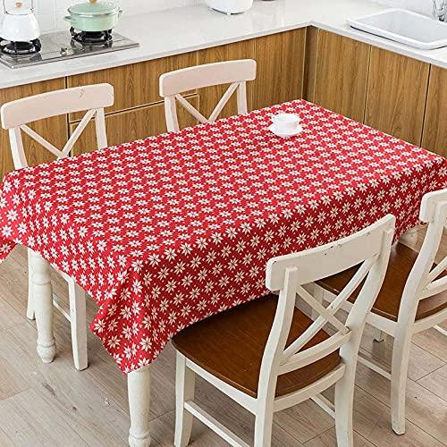 XXDD Raya geométrica Flecha Patrón de Cuadros a Cuadros Mesa Impermeable Hogar Cocina Hotel Escritorio Mantel Decorativo A4 140x200cm