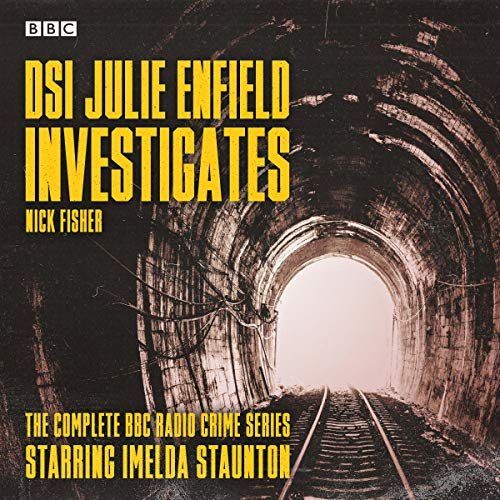 DSI Julie Enfield Investigates audiobook cover art