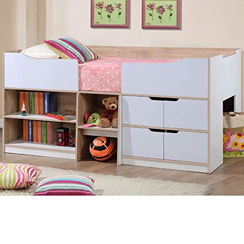 Kids Bed With Storage Amazoncouk