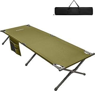 KingCamp XXXL składane łóżeczko kempingowe z torbą do n