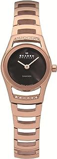 Skagen Black Label Swiss Round Brown Mother-of-pearl Dial Women's watch #982SRXD