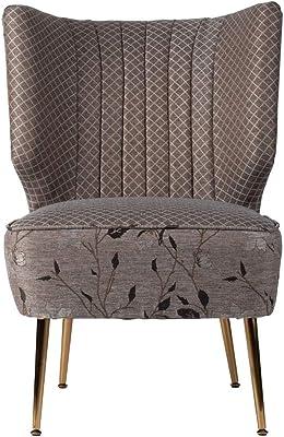 Amazon.com: Moderna silla de lino de estilo contemporáneo ...