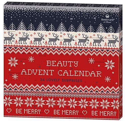 Boulevard de Beauté 24 Beauty Days - der Beauty-Adventskalender im weihnachtlichen Strick-Design, 24 Stück