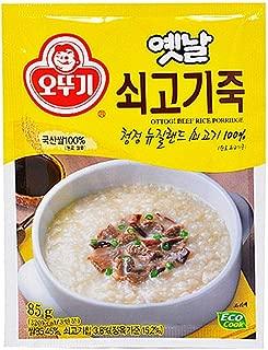 Ottogi Beef Rice Porridge 85g (Serving for 3)