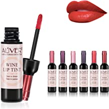6 Colors Wine Liquid Lipstick, Lady Long Lasting Make Up Gloss Matte Lip Tint Wine Bottle Cover, Matte Lip Gloss (6pcs lipgloss)