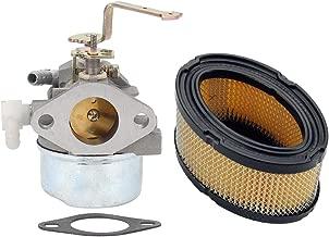Buckbock Carburetor with Air Filter for Tecumseh HM80 HM90 HM100 LH318XA LH358EA 640152A 640023 640140 640051 640152 640260 Carb Lawnmower Snow Blower Oregon 50-655 Rotary 13154