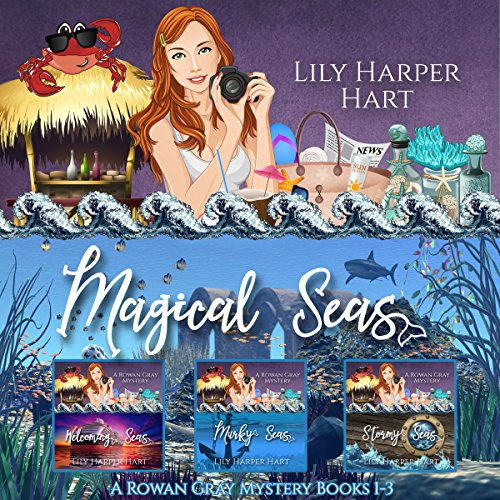 Magical Seas: A Rowan Gray Mystery Books 1-3                   Written by:                                                                                                                                 Lily Harper Hart                               Narrated by:                                                                                                                                 Kate Marcin                      Length: 17 hrs and 51 mins     2 ratings     Overall 3.5