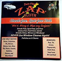 Zap Cloth - Streak Free, Spot Free - 3 Cloths by ZAP Cloth