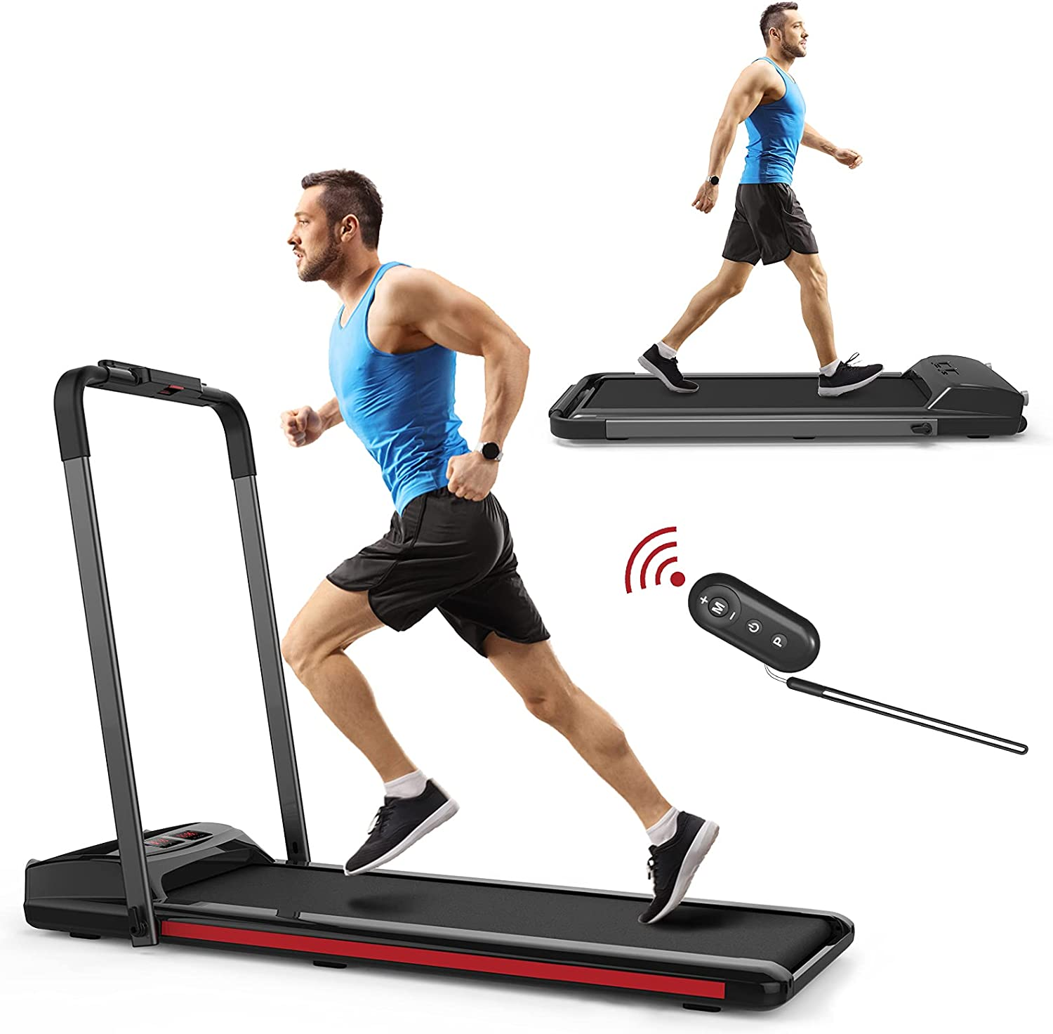 SHAREWIN 2 in 1 Over item handling ☆ Folding Treadmill T Home Under Electric All items the store Desk for