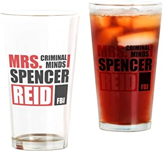 CafePress Mrs. Spencer Reid Pint Glass, 16 oz. Drinking Glass