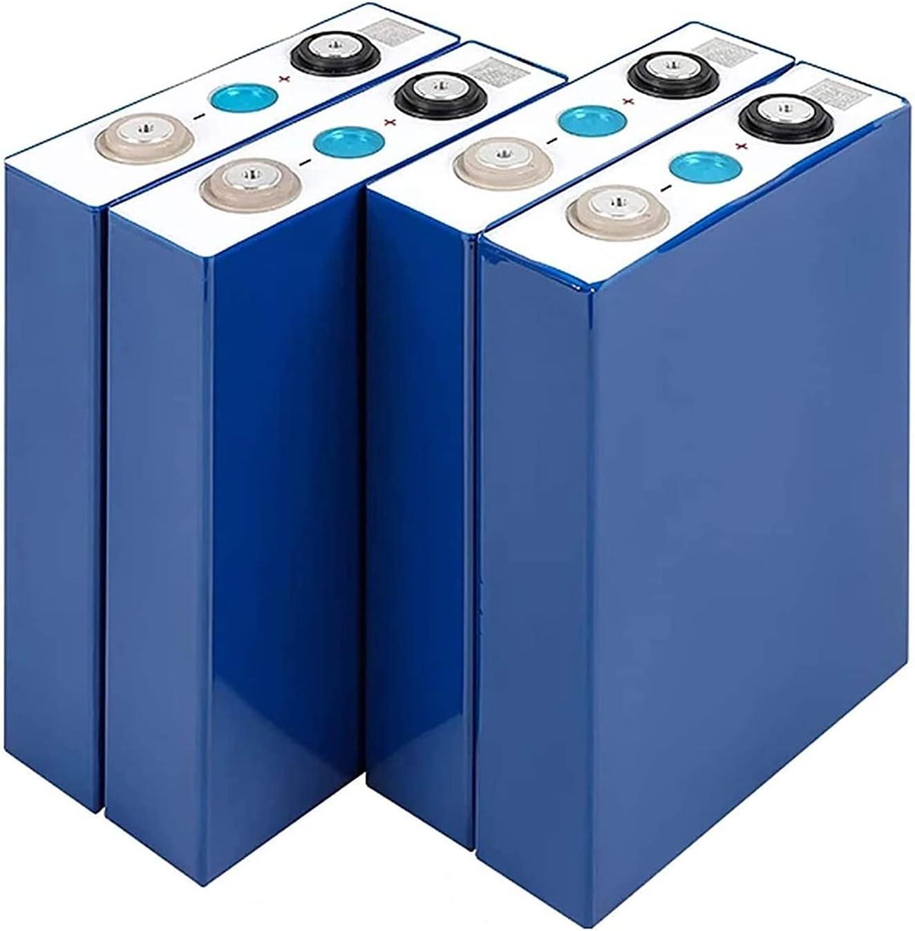 ASD321 Grado A 4 Piezas 100Ah 3.2V LIFEPO4 Batería de Hierro de Litio Células fosfato 12V 24V 48V Baterías for Solar EV RV Pack
