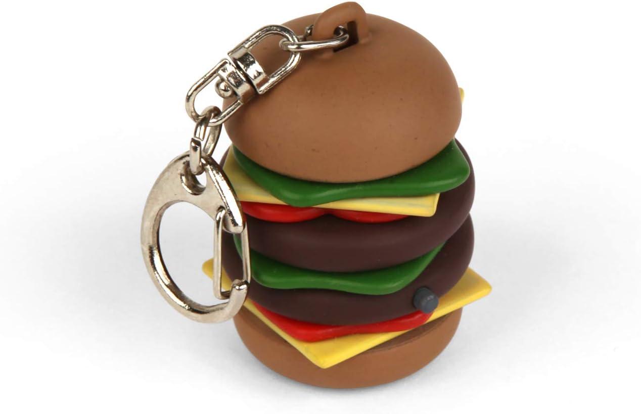 Cheeseburger Keyring