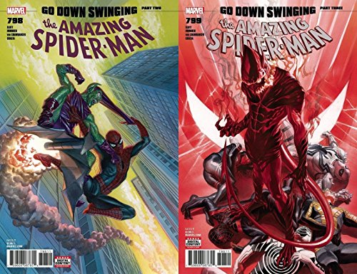 Amazing Spider-Man 798 & 799 Red Goblin Comic Book bundle...