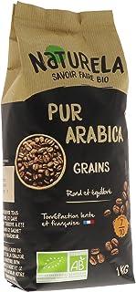 Naturela Café Grains Bio Pur Arabica - 1 kg