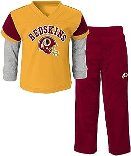 Outerstuff Washington Redskins NFL Gold Charger Long Sleeve & Pants Set Toddler (2T-4T)