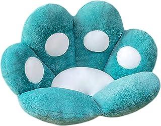 Cat Paw Shape Seat Cushion Bear Paw Lazy Sofa Chair Cushion Warm Skin-Friendly Floor Office Chair Cushion, Funny Gifts for...
