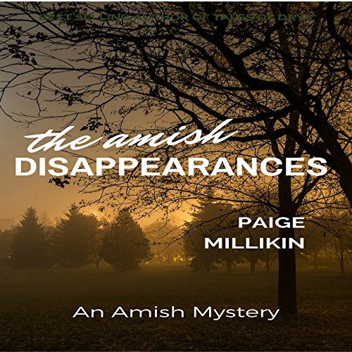 The Amish Disappearances audiobook cover art