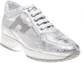 HOGAN Interactive Womens Sneakers Silver