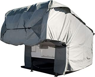 Budge Truck Camper Covers Fits Truck Camper RVs 10' to 12' Long (Gray, Polyproplyene)