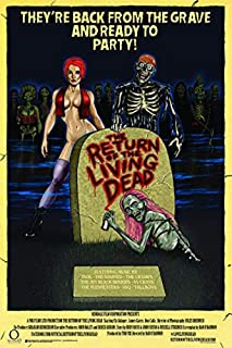 Return Of The Living Dead Movie Poster - Officially Licensed