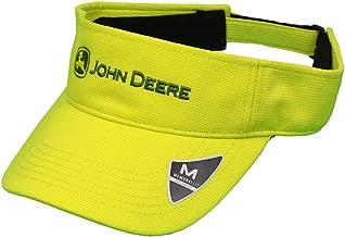 John Deere Memory Fit Cap-Hi Vis Orange-Os