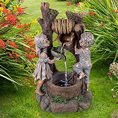 Pure Garden 50-201 Well Water Fountain