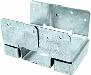 Simpson Strong Tie ABA46Z ZMAX Galvanized 14-Gauge 4x6 Adjustable Post Base 10-per Box