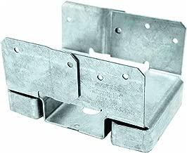 Simpson Strong Tie ABA46Z ZMAX Galvanized 14-Gauge 4x6 Adjustable Post Base 10-per Box