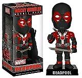 Funko - Bobble Head Marvel - Deadpool X-Force Exclu Noir Et Rouge 18cm - 0849803077563