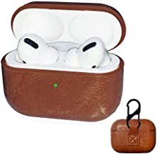 Genuine Leather Protective Case for Apple Airpods Pro (New Airpods 2019)