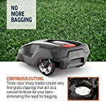 Husqvarna Automower 315X Robotic Lawn Mower 16 Maintain a yard the neighbors will envy with the touch of a button or the Command of your voice; Smart home meets smart lawn with Automower 315x Manage your mower's cutting schedule and track it's exact location with the Automower Connect app and start or stop your mower quickly via voice command using your Alexa or Google Home device Guided by hidden Boundary wires, Automower knows how to smartly maneuver around your yard and when it is time to return to the charging station for a battery recharge