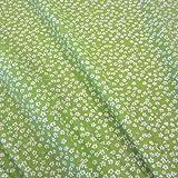 Stoff Baumwollstoff Baumwolle Blumen Mille Fleur geblümt