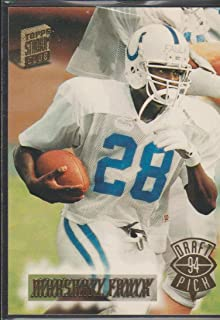 1994 Topps Stadium Club Marshall Faulk Colts Rookie Football Card #327