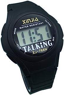 Nergo Reloj Parlante en Español para Ciegos, Niños, y Los Ancianos, Deportes Electrónicos Hablar Relojes Gatget Regalo 768...