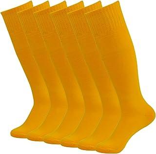 Sports Socks Unisex,saillsen Knee High Long Tube Baseball Soccer Team Sport Socks 2/6/10 Pack