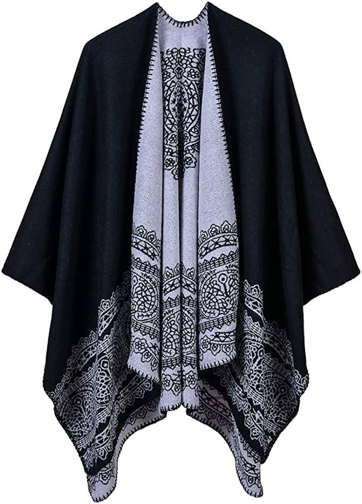 Idea Houses Ladies Shawls Wraps Scarves Gift Pattern Popular products Lace Max 51% OFF C Xmas