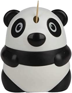Toothpick Dispenser/Toothpick Holder; Funny, Automatic, Cute, Decorative Toothpicks Container Case for Restaurant, Home Kitchen and Parties (Panda)