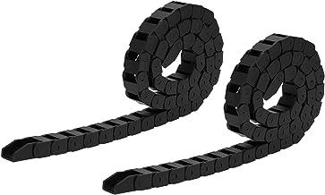 Walfront 2-delige nylon kabel kabelrups olieleiding en luchtleiding en verminderen verbruik Flexibele sleeplijn drager voo...