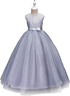 Speedeo レディース 子供 キッズ 女の子 フォーマルドレス 発表会 演奏会 結婚式 プリンセス風 ガールズ ワンピース ロングドレス