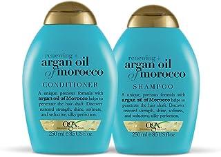Kit OGX Argan Oil of Morocco: 1 Condicionador 250ml + 1 Shampoo 250ml