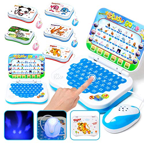 Deusa Baby Interactive Learning Laptop Chinese English Learning Computer Toy for Boy Baby Girl Children Kids