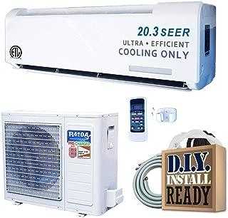 AMVENT Series 18,000 BTU 1.5 Ton Inverter Ductless Mini Split Air Conditioner Only - 220-Volt/60Hz