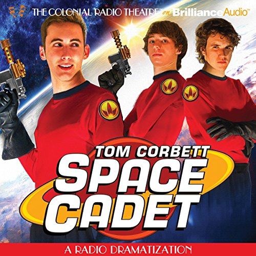 Tom Corbett Space Cadet audiobook cover art