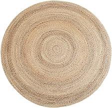Xinxinchaoshi Chair Mat Water Reed Hand-Woven Grass Circular Carpet Computer Living Room Coffee Table Bedroom Floor Mat Mu...