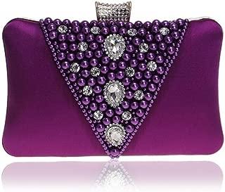 GXB Sac de d/îner de sac de d/îner de cheongsam brod/é perl/é vintage tenu dans la main une /épaule diagonale croix-fille multicolore sac de banquet de cadeau de mariage
