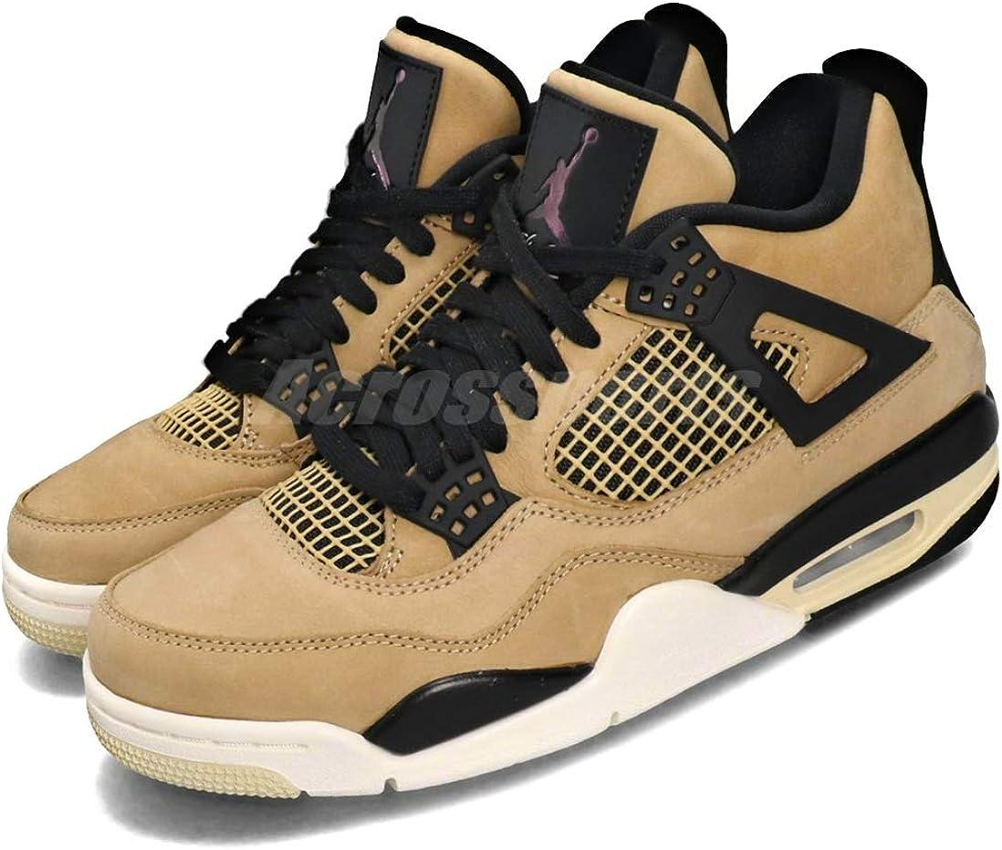 Amazon.com   Nike Air Jordan 4 Retro Youth 5.5Y/Women 7 Fossil ...