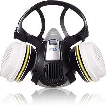 Dräger X-plore® 3300 Chemieset halfgelaatsmasker + 2x ABEK1 Hg P3 R D filters | Gasmasker voor chemische stoffen, toxische...